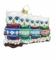 Christopher Radko Owl In A Row Owls in Holiday Sweaters Ornament
