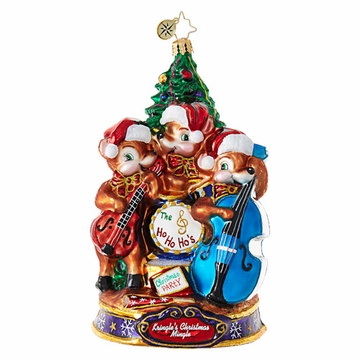 Christopher Radko Play Our Favorite Song! Mice Ornament