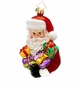 Christopher Radko Presently Cheerful Santa Claus Ornament