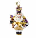 Christopher Radko Pudgy and Proud Nutcracker Ornament