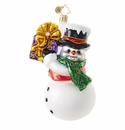 Christopher Radko Shaking Things Up! Frosty Snowman Ornament
