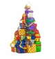 Christopher Radko Snazzy Stack Christmas Tree of Presents Ornament