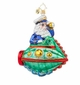 Christopher Radko Submarine Santa Ornament