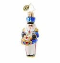 Christopher Radko To the Beat of His Own Drum Santa Ornament