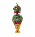 Christopher Radko Uptown Tree Topiary Christmas Tree Ornament