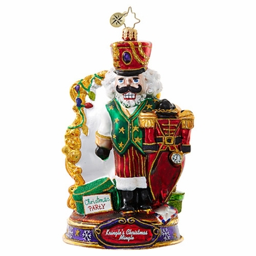 Christopher Radko What Should I Wear? Nutcracker Ornament