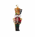 Christopher Radko Wood You Hold It Down, Up There! Nutcracker Ornament