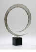 Circle Nickel Iron Art Sculpture by Cyan Design