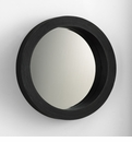 Circle Wood Wall Mirror by Cyan Design