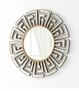 Cleopatra Round Wall Mirror by Cyan Design