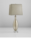 Coco Gold Crackle Glass Lamp by Cyan Design