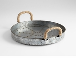 Colonial Rope Handle Tray by Cyan Design