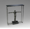 Columbo Statue Granite Accessory Table by Cyan Design