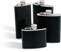 Concord 4 Oz. Whiskey Flask - Black Bison