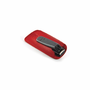 Concord Executive Clippers With Red Leather Case