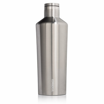 Corkcicle Brushed Steel 60 oz Insulated Growler
