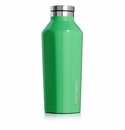 Corkcicle Caribbean Green 9 oz Insulated Water Bottle