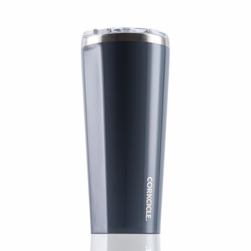Corkcicle Glossy Graphite Insulated Tumbler 24 oz