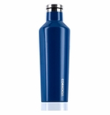 Corkcicle Glossy Riviera Blue Insulated Water Bottle 16 oz