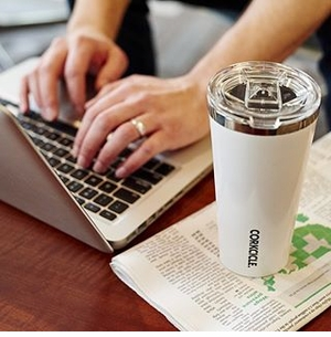 Corkcicle Thermal Tumblers & Stemless Wine Glasses
