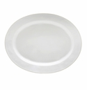 "Costa Nova Astoria 15.75"" Oval Platter - White"