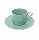 Costa Nova Astoria Tea Cups & Saucers Set Of 6 - Mint