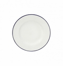 Costa Nova Beja Bread Plates Set Of 6 - White