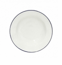 Costa Nova Beja Soup Or Pasta Plates Set Of 6 - White