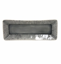 "Costa Nova Madeira 10.5"" Rectangular Tray - Grey"