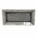 "Costa Nova Madeira 13.25"" Rectangular Tray - Grey"