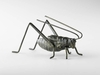 Cricket Iron Sculpture by Cyan Design