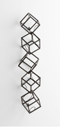 Cubed Wall Mount Wine Rack by Cyan Design