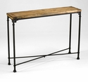 Cunningham Iron Console Table by Cyan Design