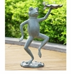 Dancing Frog With Lilypad Bird by SPI Home