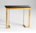 Dante Iron and Granite Console Table by Cyan Design