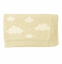Darzzi Melange Natural Soft Clouds Baby Blanket