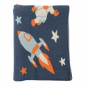 Darzzi Midnight Blue Combo Outer Space Baby Blanket