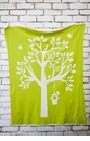 Darzzi Nursery Tree Green Baby Blanket