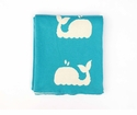 Darzzi Whale Baby Blanket Turquoise
