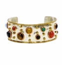 David Jeffery Cuff - Multicolor Stones