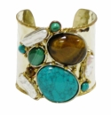 David Jeffery Cuff - Turquoise/Malachite/Tiger