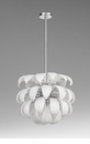 Day Lily 6 Light Pendant White by Cyan Design