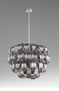 Day Lily 8 Light Pendant Chrome by Cyan Design