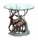 Deer Pair End Table by SPI Home