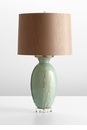 DeHaro Green Ceramic Table Lamp by Cyan Design