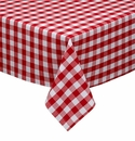 Design Imports Checkers Tablecloth 60x84