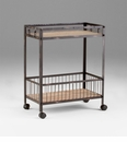 Desmond Iron Kitchen Cart by Cyan Design