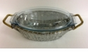 Dessau Home Alum Oval Covered Casserole 13X9