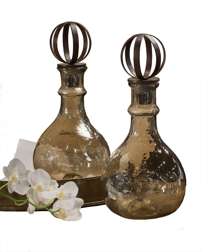 amber luster decanter each decanter is sold separately. Black Bedroom Furniture Sets. Home Design Ideas