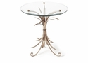 Dessau Home Antique Silver Wheat Table